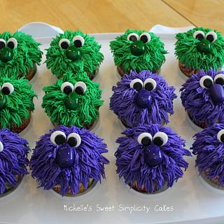 Big Nose Monster Cupcakes - Cake by Michelle