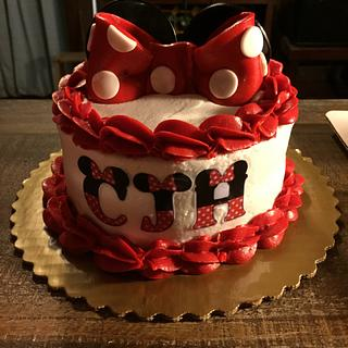 1st Birthday - Minnie Mouse