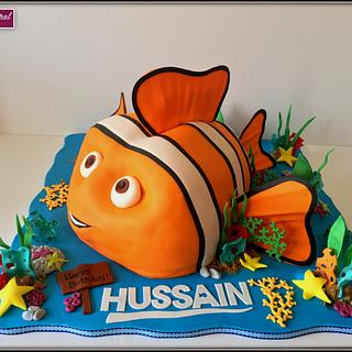 Finding Nemo  - Cake by Arwa