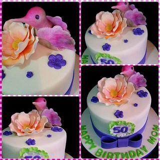 Hummingbird cake!!!! - Cake by DeliciasGloria