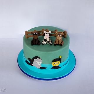 Cow Cake - Cake by Miriam