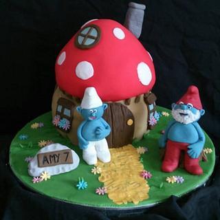 A smurfs home