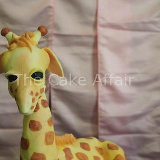 Monte the Giraffe