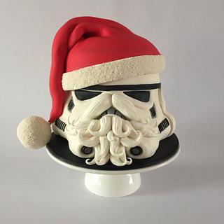 Stormtrooper Helmet Cake - Cake by İnci Orfanlı Erol