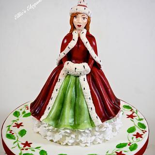 Royal Doulton figurine Christmas cake