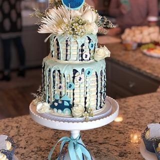 Wylde One - Cake by Lori Goodwin (Goodwin Girls Cakery)