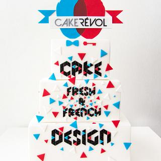 Fresh & French Cake Design