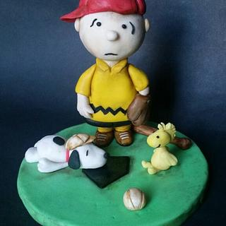 Peanuts 65 years Collaboration - Cake by Patty's Cake Designs