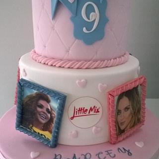 Little Mix birthday cake