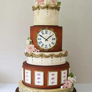 Antique Wedding Cake