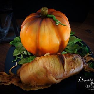 Mandrake and Pumpkin Cake