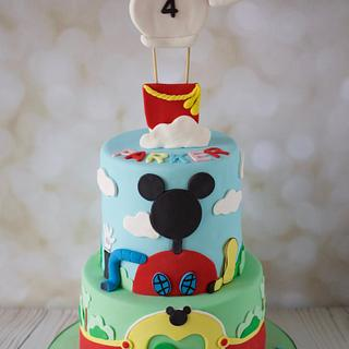 Mickey Mouse Clubhouse Icing Smiles Cake