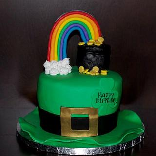 St. Patty's Birthday Cake!