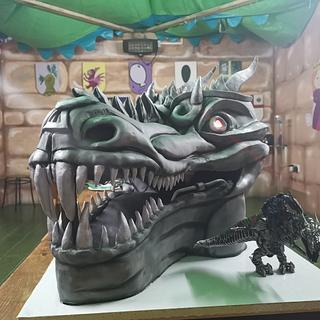 Grimlock (transformers) cake - Cake by Dani's Design-a-Cakes