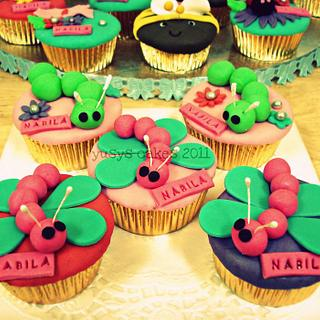 Dragonfly Cupcakes