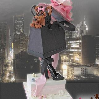 Fashion tall cake