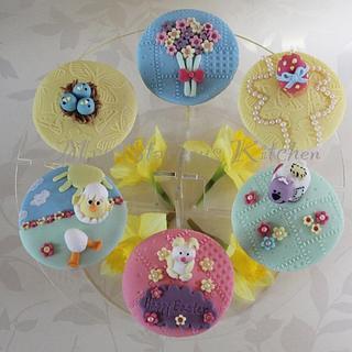 Easter/springtime cupcakes - Cake by sarah