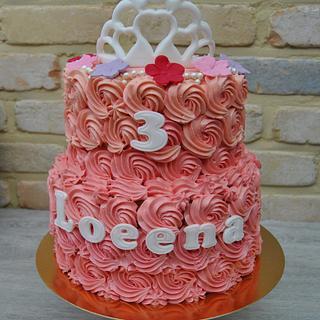 Pink cake - Cake by Anse De Gijnst