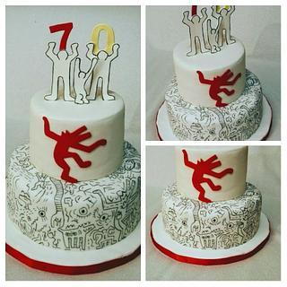 70th Birthday  - Cake by Anka
