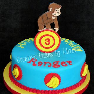 Curious George Cake - Cake by Creative Cakes by Chris