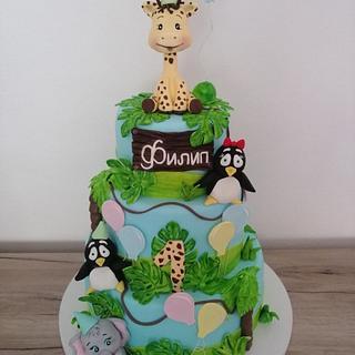 Jungle cake  - Cake by Jelena Brkljac