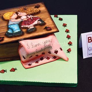 Wood Box Decorative Exhibit