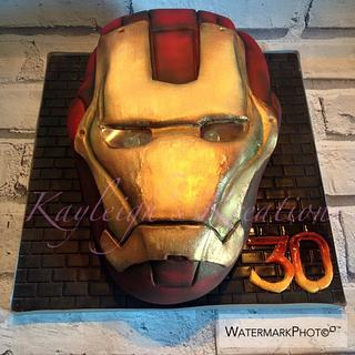 Ironman Cake - Cake by Kayleigh's Kreations