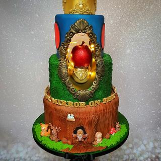 Snow White  - Cake by Delicious By Linzi