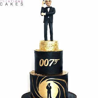 James Bond 007 cake