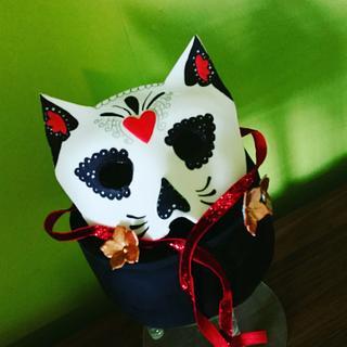 sugar skull mask!