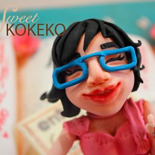 Laura´s Diary Cake - Cake by SweetKOKEKO by Arantxa