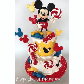 Mickey Mouse cake - Cake by Branka Vukcevic