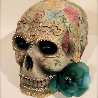 Mexican Skull [Dia de los Muertos]