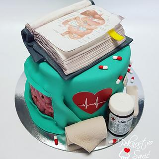 Abdominal surgery - Cake by Ana