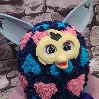 Furby Cake  - Cake by KaysCakesBristol