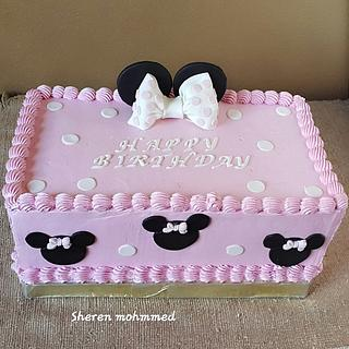 Mini mouse cake - Cake by Shery Sweet