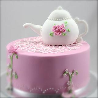Tea Party - Cake by Jo Kavanagh