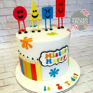 Mister Maker Shapes Cake