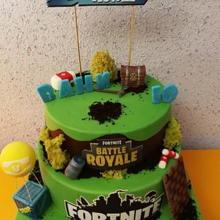Fortnite cake for Vanny