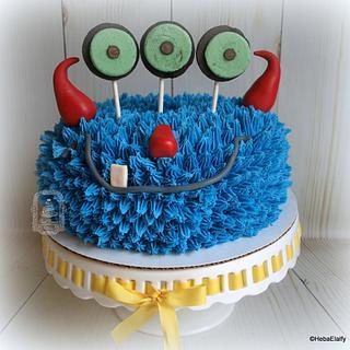 Monster 8th birthday! - Cake by Sweet Dreams by Heba