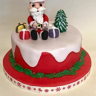 Santa :) - Cake by Ilona