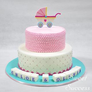 Baby Pram Cake - Cake by Sweet Success
