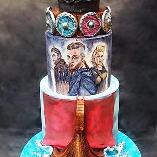 """""""Vikings"""" inspired cake"""