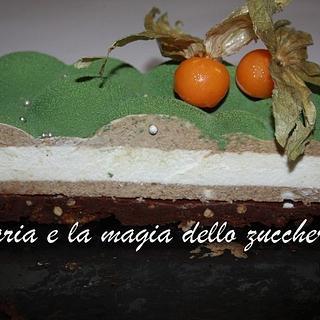 velvet modern cake