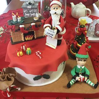 Christmas cake  - Cake by Pina