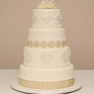 Wedding Cake - Cake by MilleFioriCakeDesign