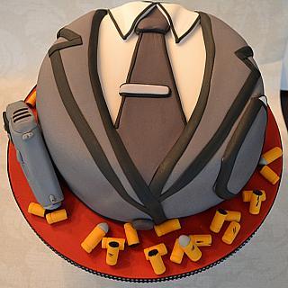 Cartoon Archer cake