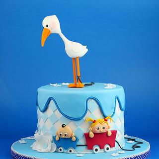 A cake for baby Chris..... :-)
