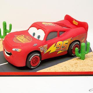cars cake - Cake by Soraia Amorim