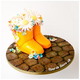 Gardener's Cake - Cake by Fleur de Sucre